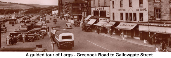 guided largs to gallowgate street