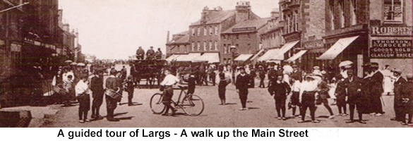 largs main street walk icon